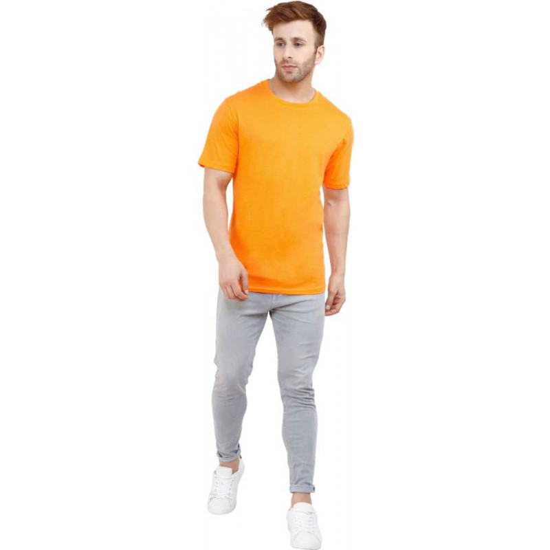 plain-orange-mens-round-neck-t-shirt