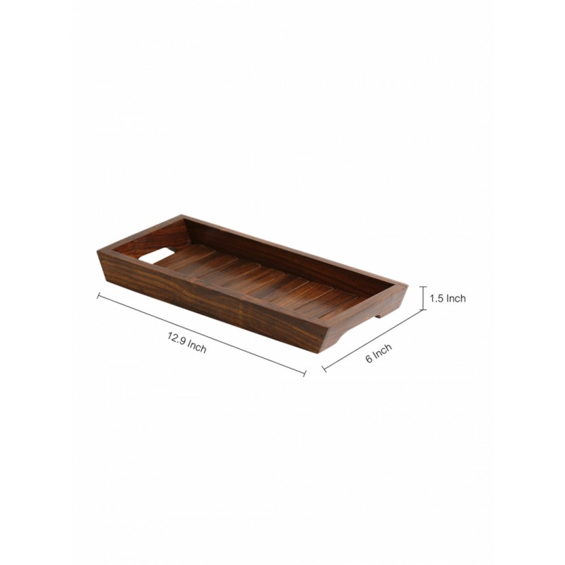 brown-handcrafted-rectangluar-wooden-tray
