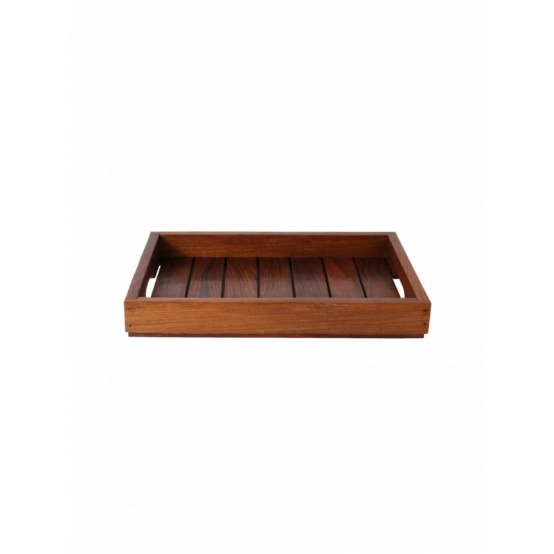 brown-set-of-2-printed-sheesham-wood-tray