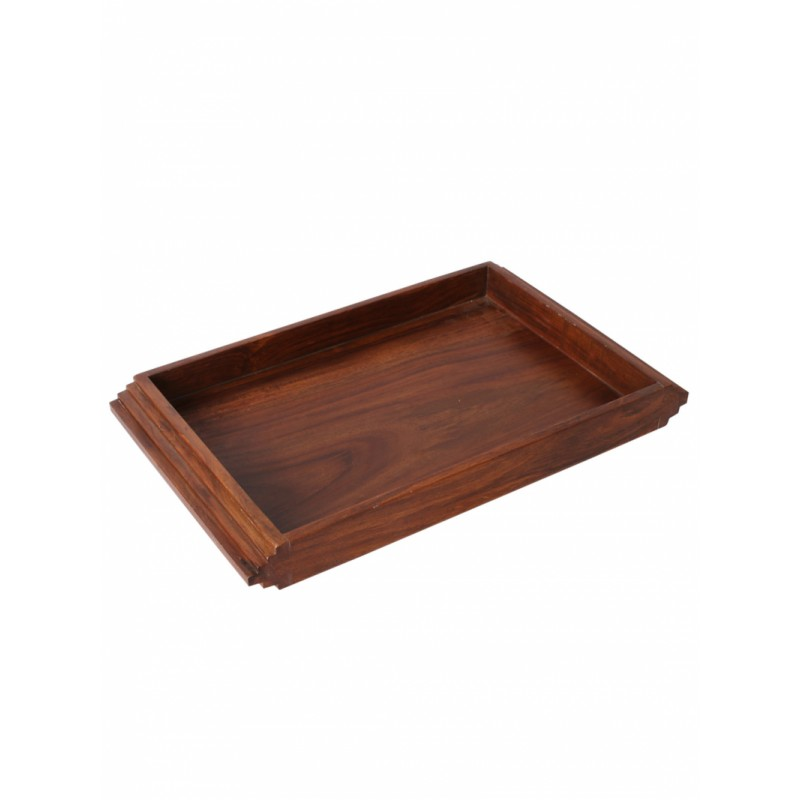 brown-rectangular-hand-made-sheesham-wooden-staircase-tray