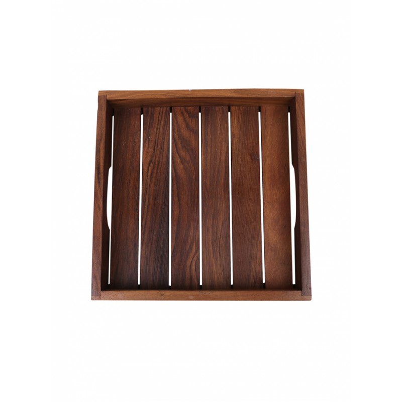 brown-set-of-2-printed-sheesham-wood-tray
