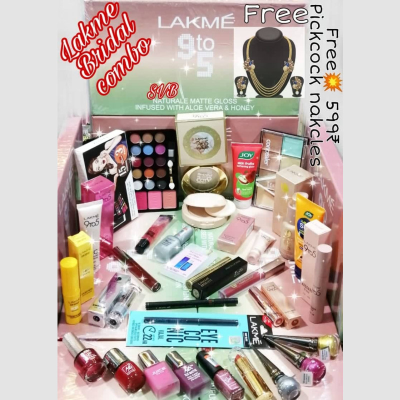 lakme-bridal-combo-makeup-set-of-28-with-free-pickcock-nakcles