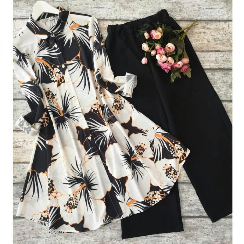 nc-womens-clothing-black-white-kurtis-with-plazzo