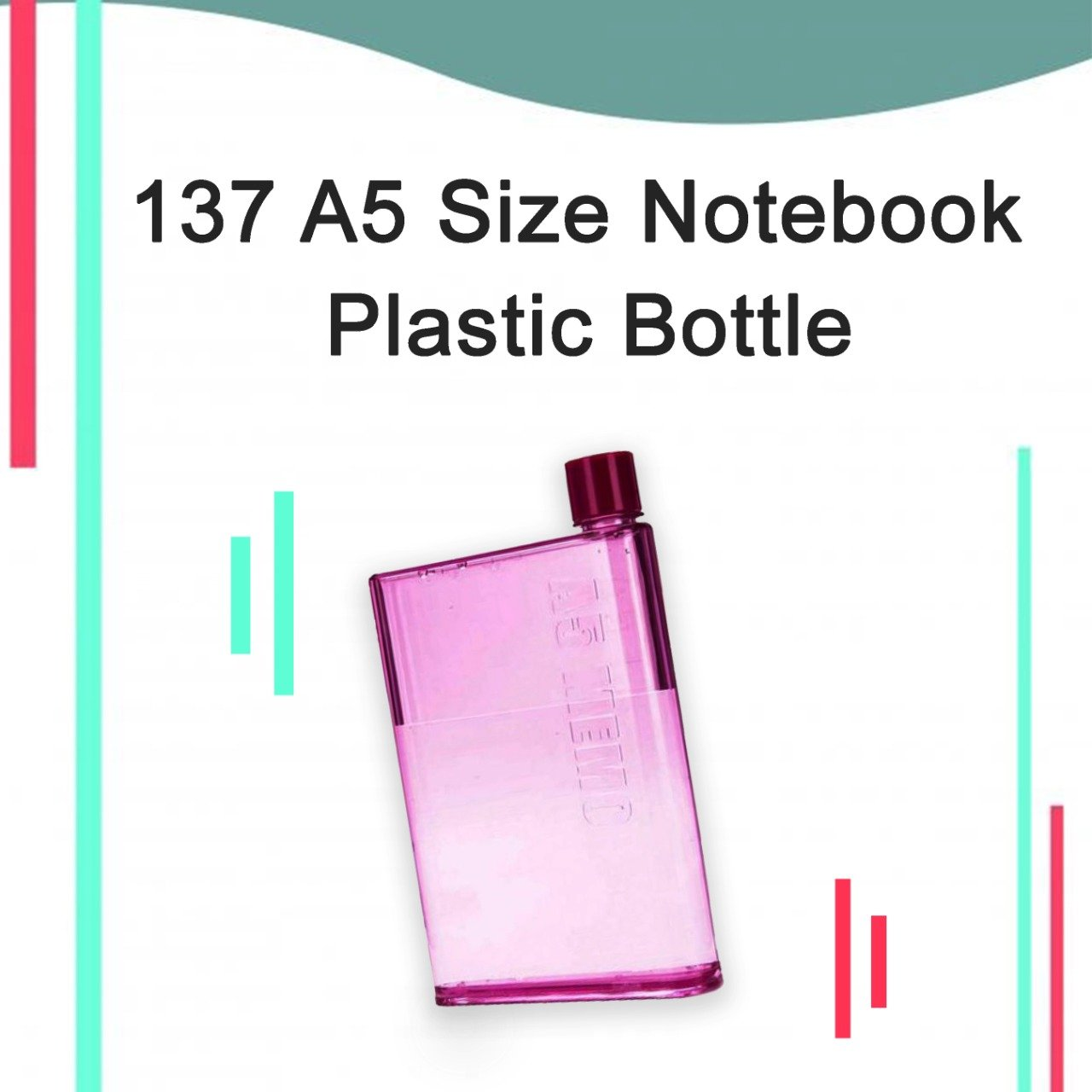 a5-size-notebook-plastic-water-bottle